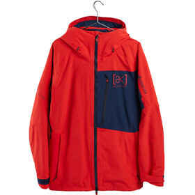 Burton Cyclic Chaqueta Gore-Tex Hombre, flame scarlet/dress blue